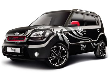 2010 Kia Soul Dragon