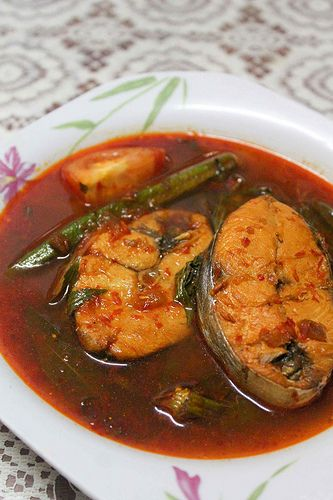 Resepi Asam Pedas Ikan Tenggiri Dapur Malaysia Food
