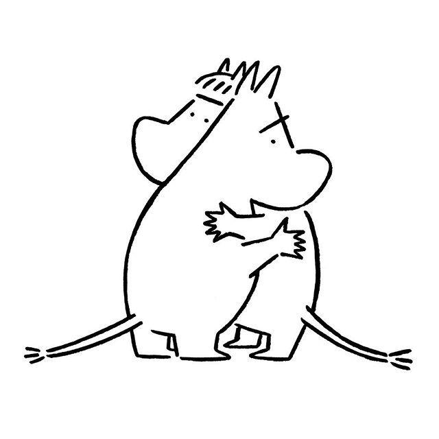 Moomin Florens Moomin Florens Tovejansson Yunagaba Kaerusensei Art 長場雄 ジブリ イラスト かわいい キャラクターデザイン