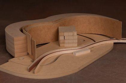 Classical Guitar Mold Set - JS Bogdanovich Guitars