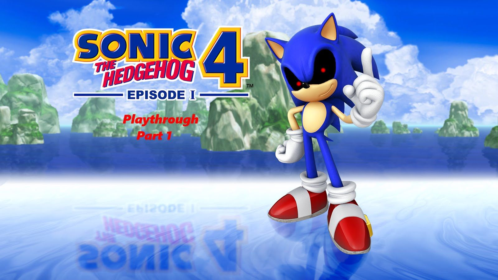 Sonic The Hedgehog 4 Episode 1 w/ Sonic.EXE Mod