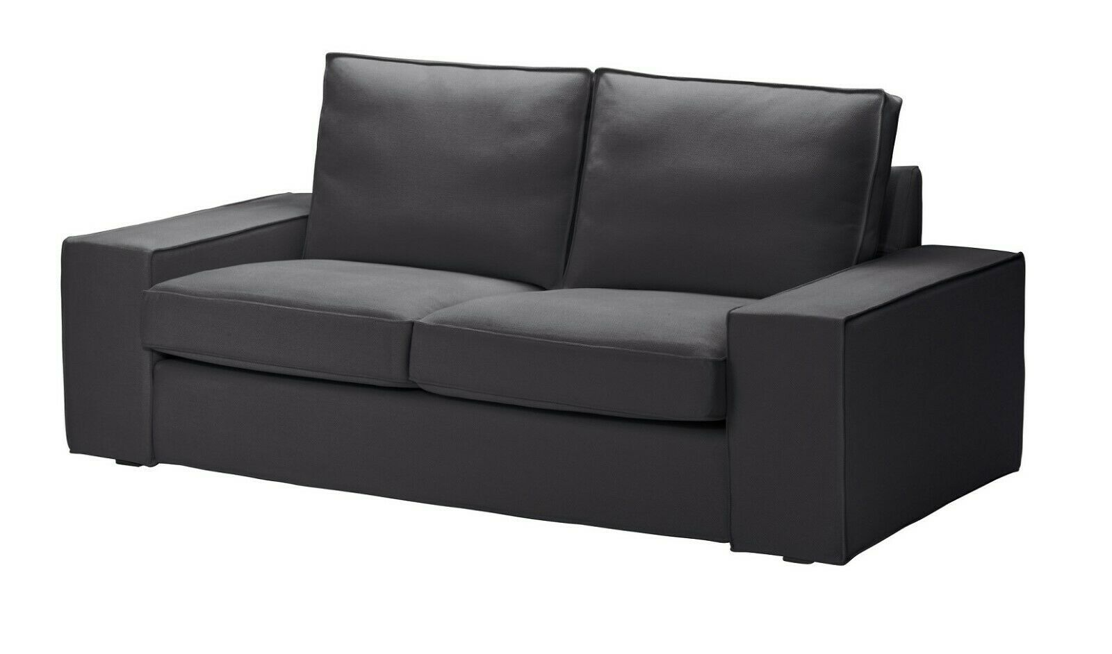 Ikea Kivik Two Seat Sofa Cover Dansbo Dark Gray Ikea Loveseat Slipcover New Ikea Sofa Ideas Of Ikea In 2020 Ikea Vimle Sofa Ektorp Sofa Cover Sofa Bed With Chaise