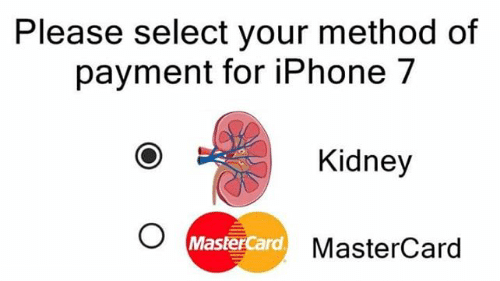 شاب صيني يبيع كليته ليشتري جوال آيفون ولكن النهاية كانت مؤسفة للغاية Mastercard Method Iphone