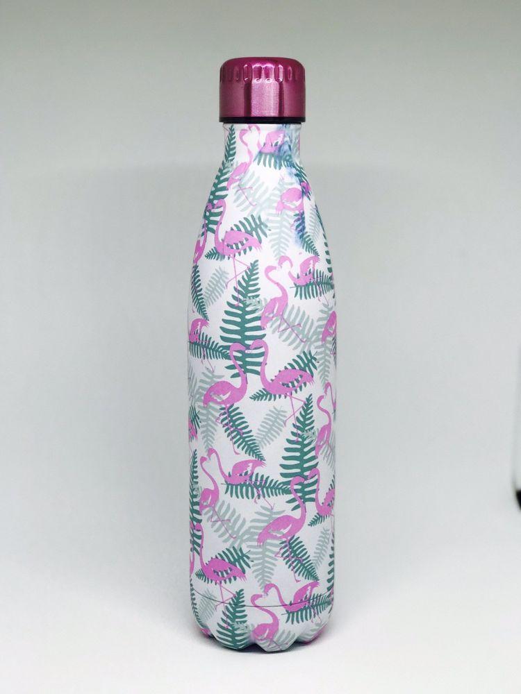 Wellness Flamingo Water Bottle 25oz Bottle Water Bottle Ebay
