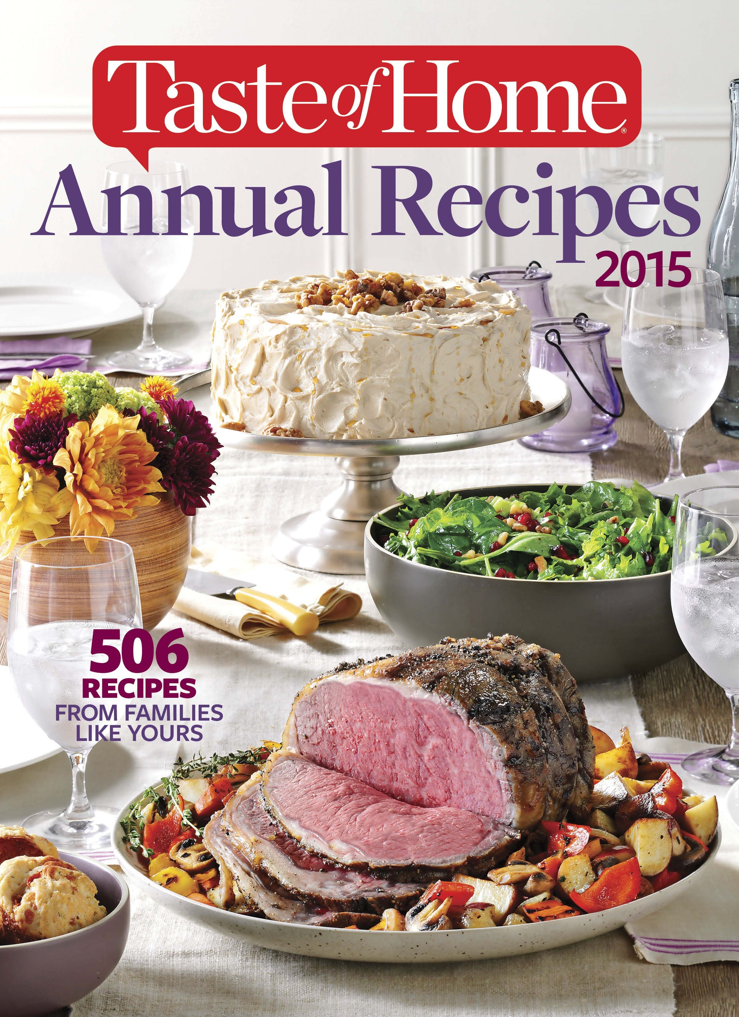 Shop taste of home 2015 taste of home annual recipes holiday taste of home most requested recipes recipes new hardcover cookbook forumfinder Gallery