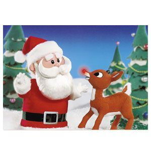 santa reacts by berating rudolphs father donner and making it perfectly clear that he has no - Rudolph And Santa