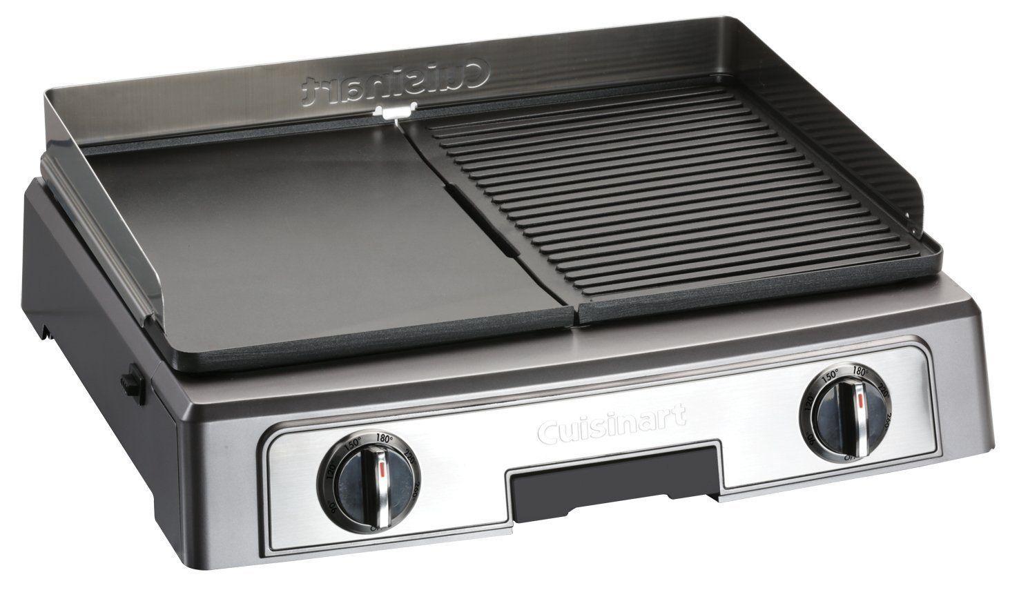 Cuisinart Plancha Barbecue Power PL50E Plancha multifonctions: Amazon.fr: Cuisine & Maison