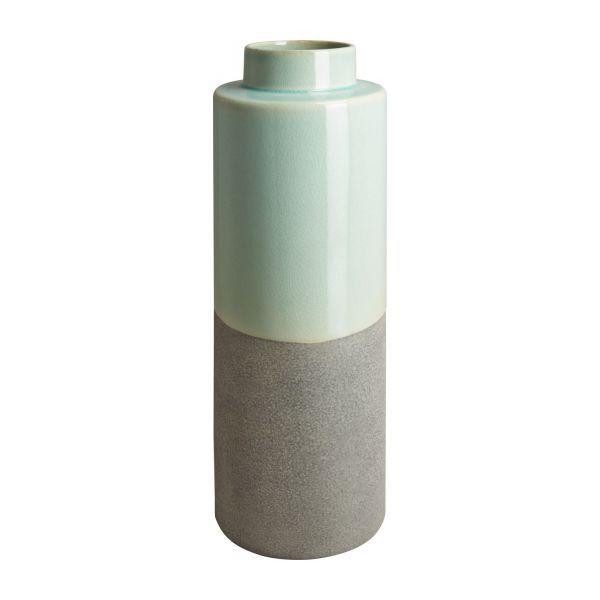 Vase en céramique 41 cm bleu