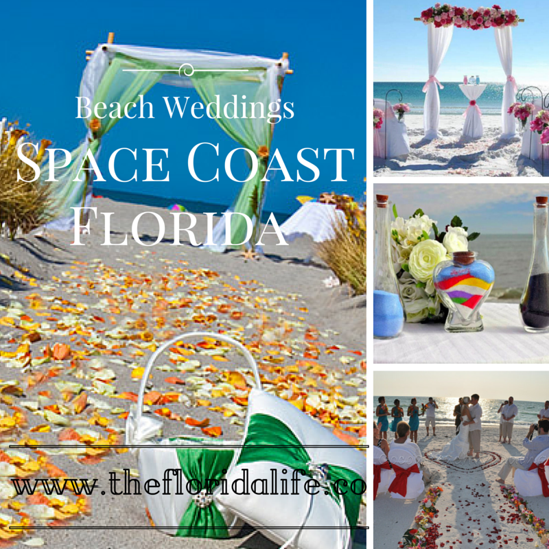 Beach Weddings, in Space Coast of Florida. Melbourne and