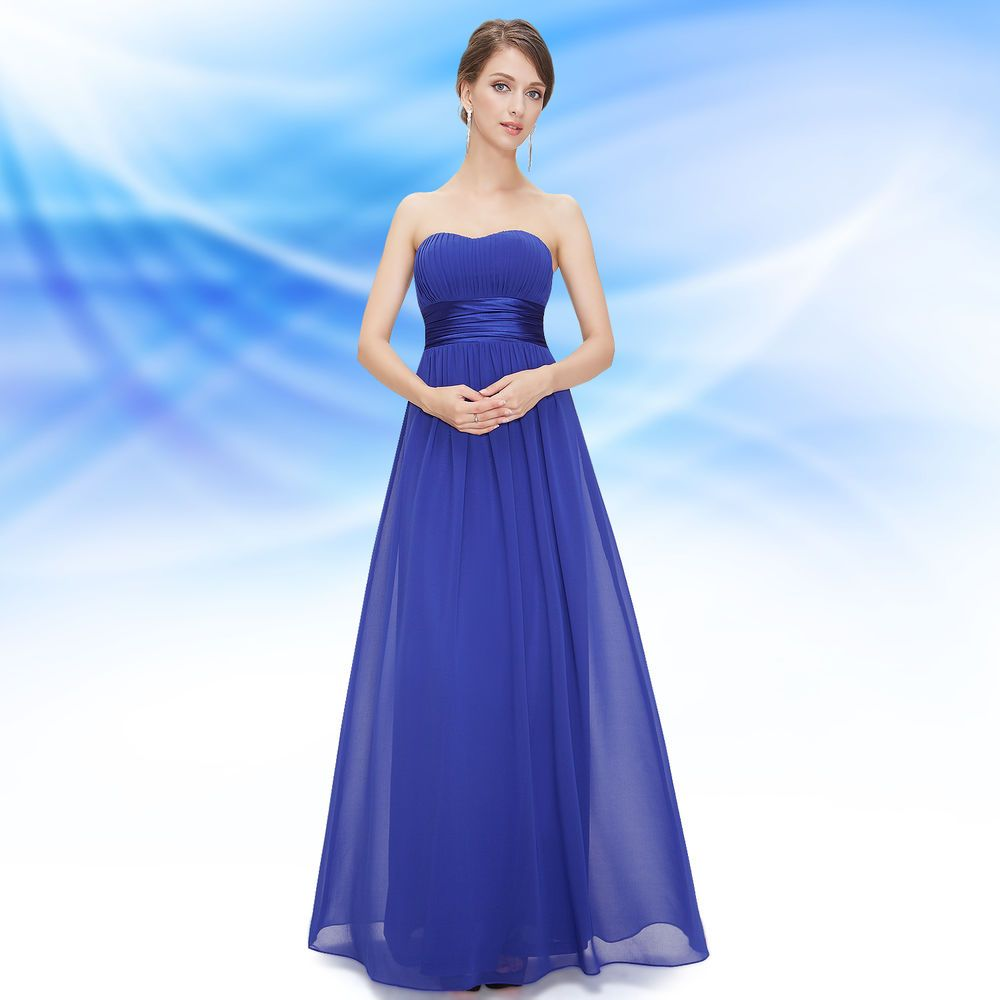 db7191b71 Ever Pretty Elegant Strapless Long Evening Dress Formal Prom Gown 09955  Size 8  EverPretty  Maxi  Formal