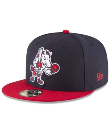 a039956f263 New Era Binghamton Rumble Ponies Ac 59FIFTY Fitted Cap - Navy Red 6 ...
