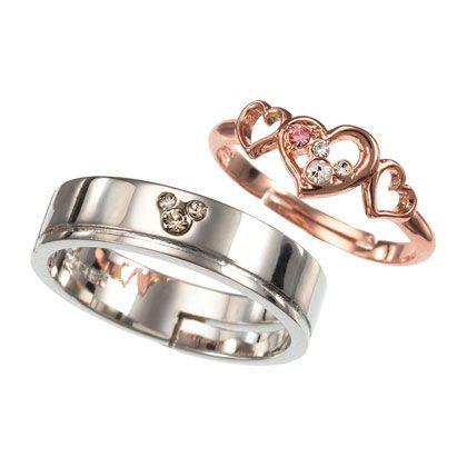 Mickey & Minnie Rings