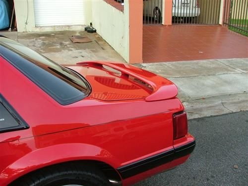 Mustang Rear Trunk Lid Spoiler 79 93 Coupe Convertible Mustang Mustang Coupe Convertible