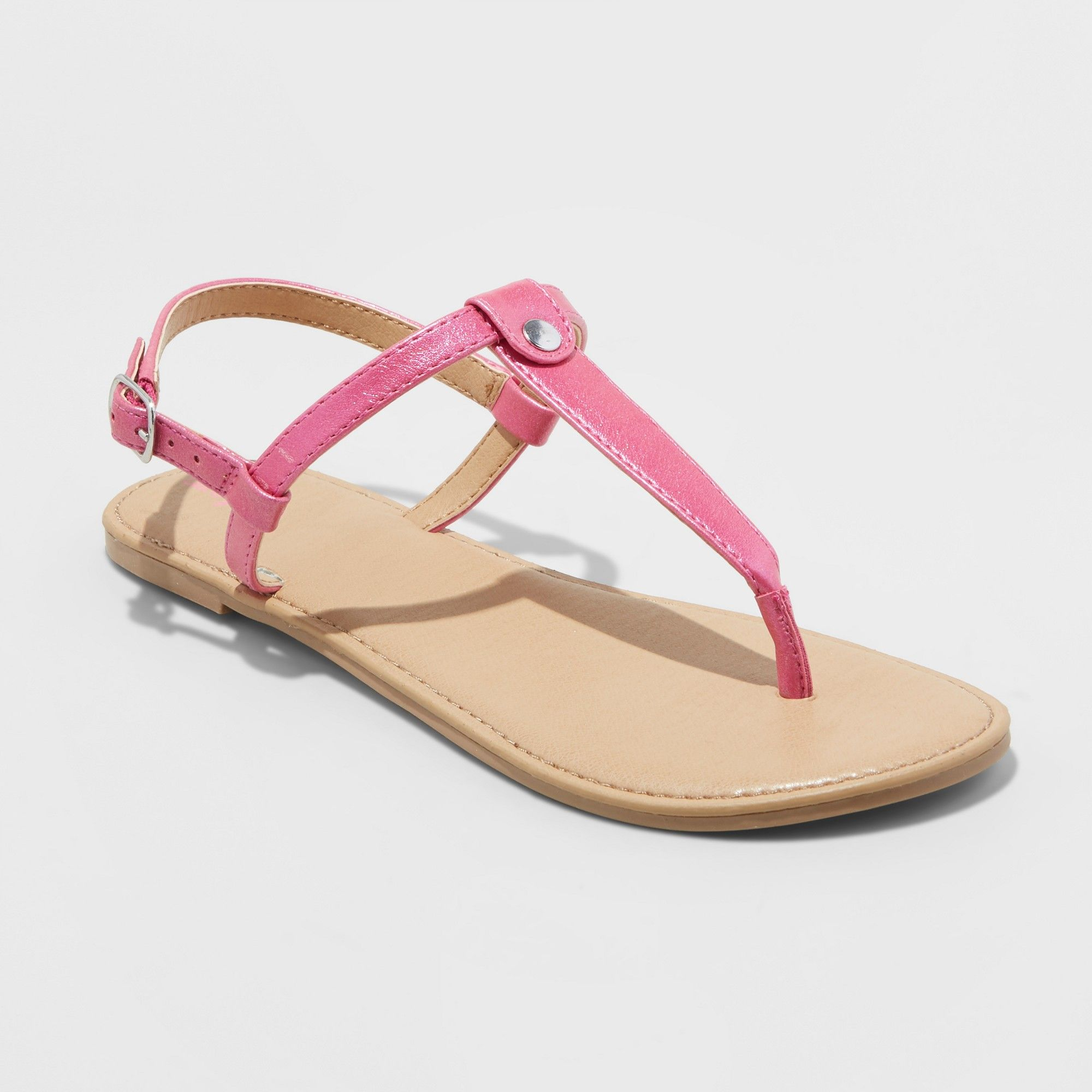 c241c97cff6d Girls  Odette Thong Sandals - Cat   Jack Pink 13