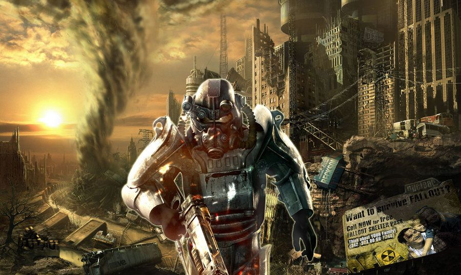 Fallout 3 Hd Wallpaper By Z Lightning Z On Deviantart Fallout Wallpaper Fallout Backgrounds Fallout