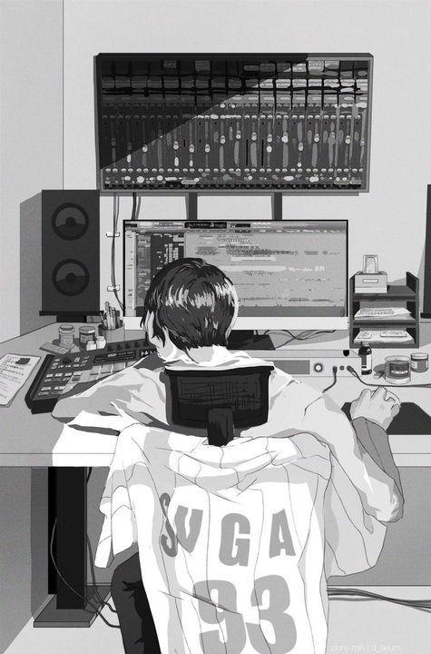 Photo of Fanart BTS – 86. Suga