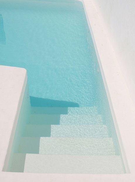 A la piscine #blue