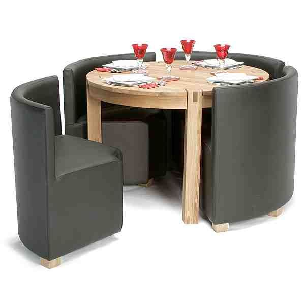 Space Saving Kitchen Table Ideas Part - 40: Space Saver Kitchen Table And Chairs - Decor IdeasDecor Ideas