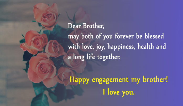engagement anniversary wishes for brother and sister in