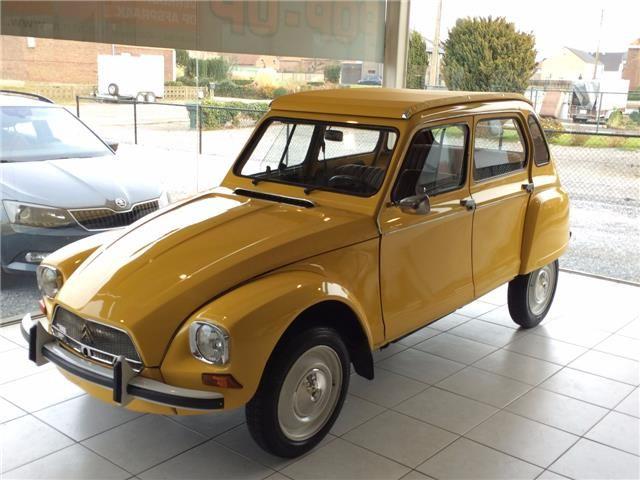 Citroen 2cv Dyane Cabrio Completely Rebuilt Seventies Icon D Occasion Essence 8 950 A Bilzen 2cv Citroen Voitures Retro Citroen Dyane