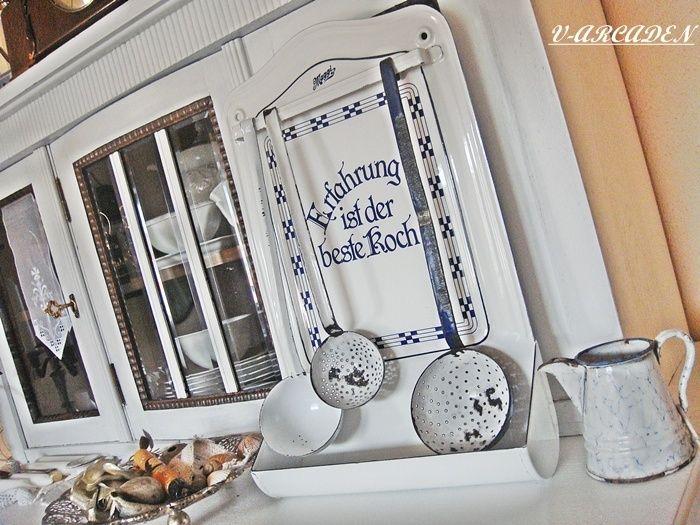 Maggi grLöffelblech \ 3 Schöpfer Shabby Chic Küche Pinterest - shabby chic küchen