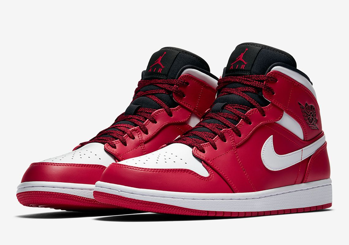 Air Jordan 1 Mid Chicago 554724-605 Release Info Images  thatdope  sneakers   luxury  dope  fashion  trending afb59d01d
