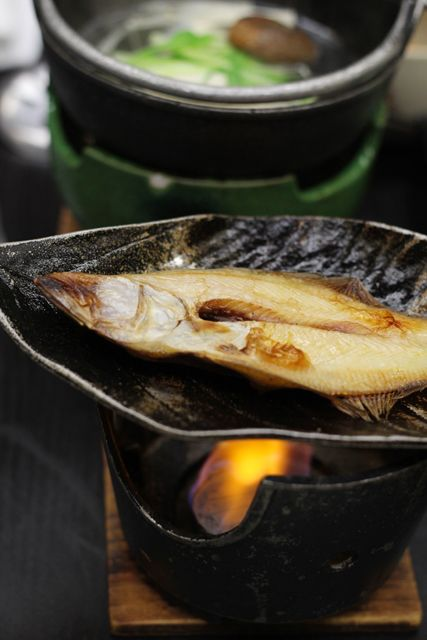 旅館, ryokan, washoku, flatfish, righteye flounder