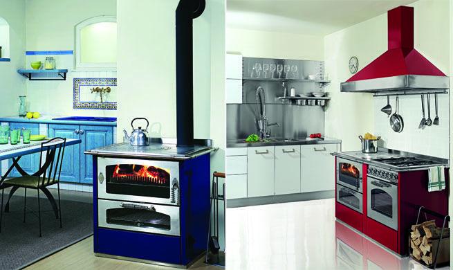 Cocinas de le a modernas cocinas y mas pinterest - Cocinas de lena antiguas ...