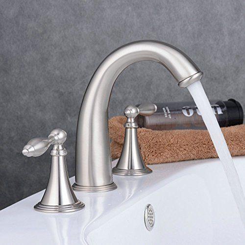Bathroom Faucets Diy Ollypulse 8 Inch 3 Holes Deck Mount