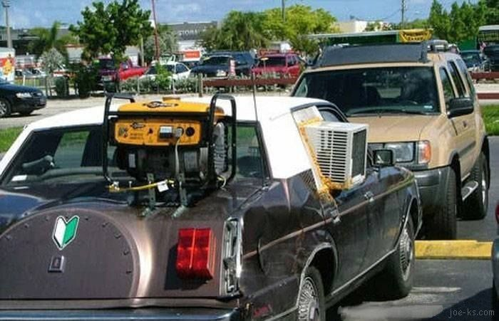 Pin by Rose Marie on Seriously??? | Car humor, Car fails