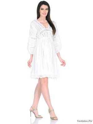 Vestidos blancos para colacion