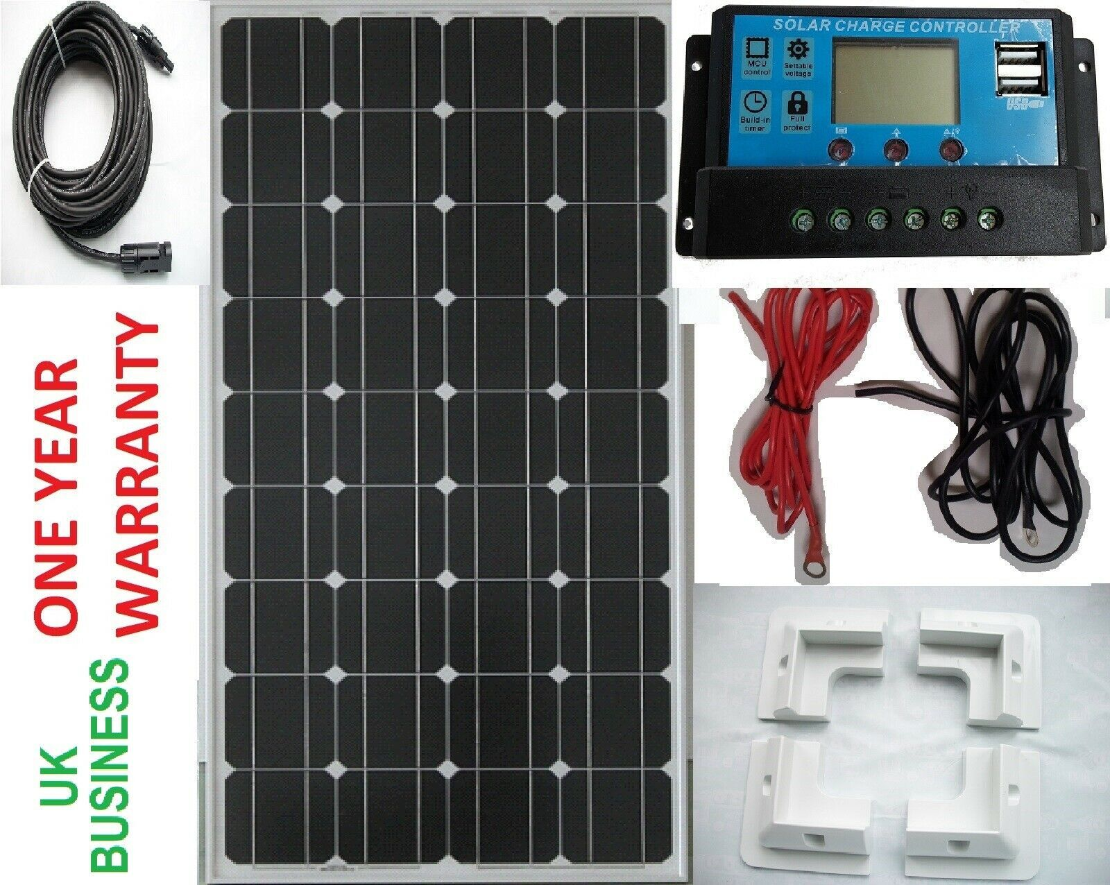 12v 100 Watt Solar Panel In 2020 100 Watt Solar Panel Solar Panels Solar Panel Kits