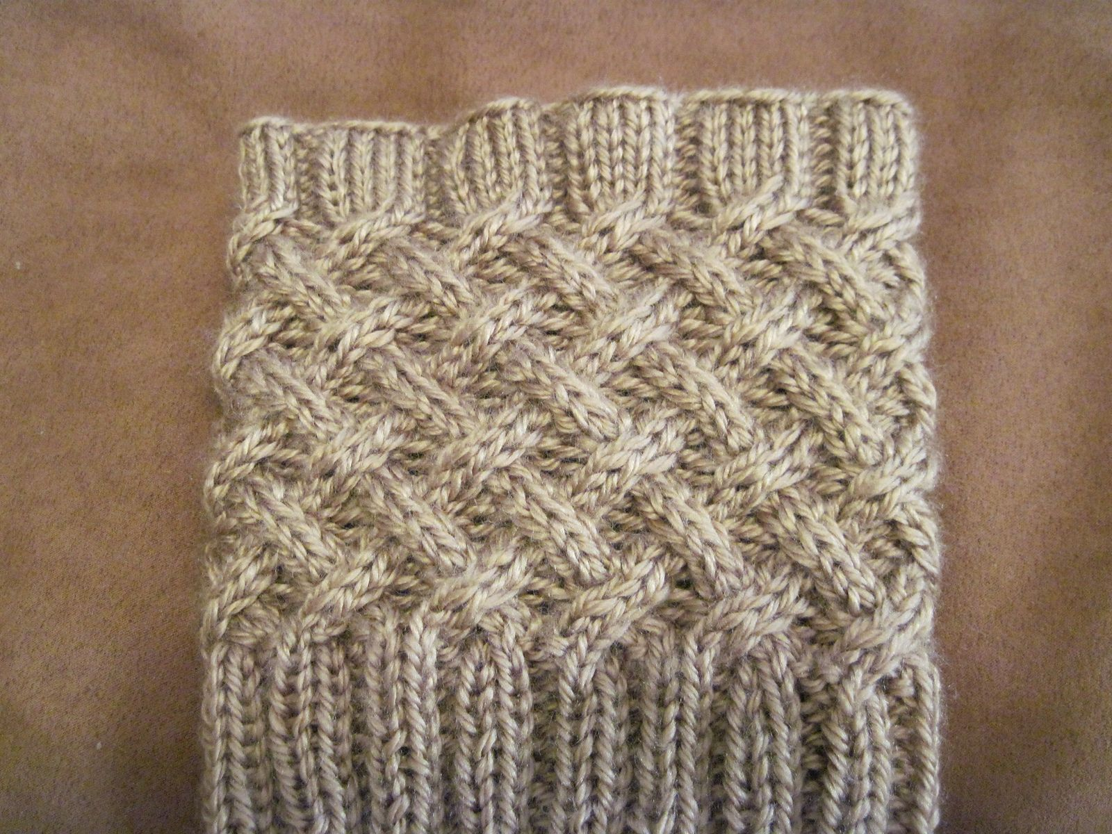 Ravelry: Free Cabled Boot Topper pattern by Anna Templer | Knit ...