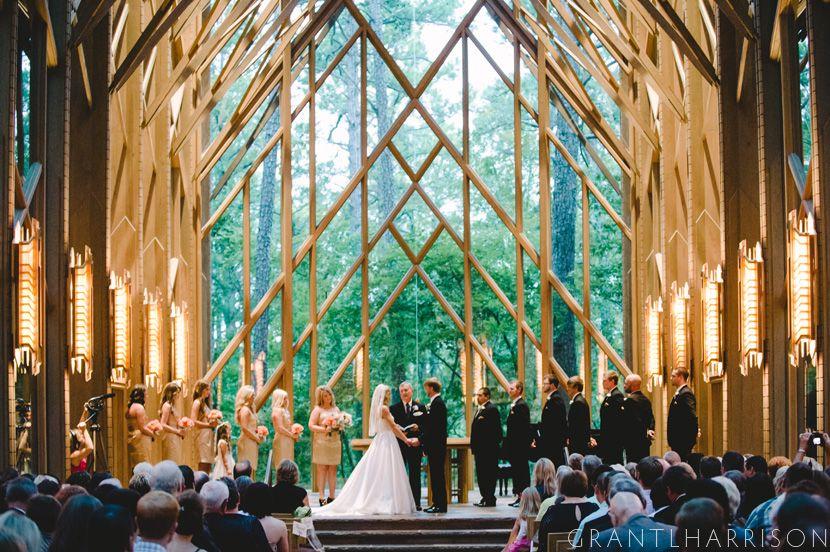Matt And Courtney S Wedding Pretty Place Chapel Woodland Wedding Venues Arkansas Wedding Venues
