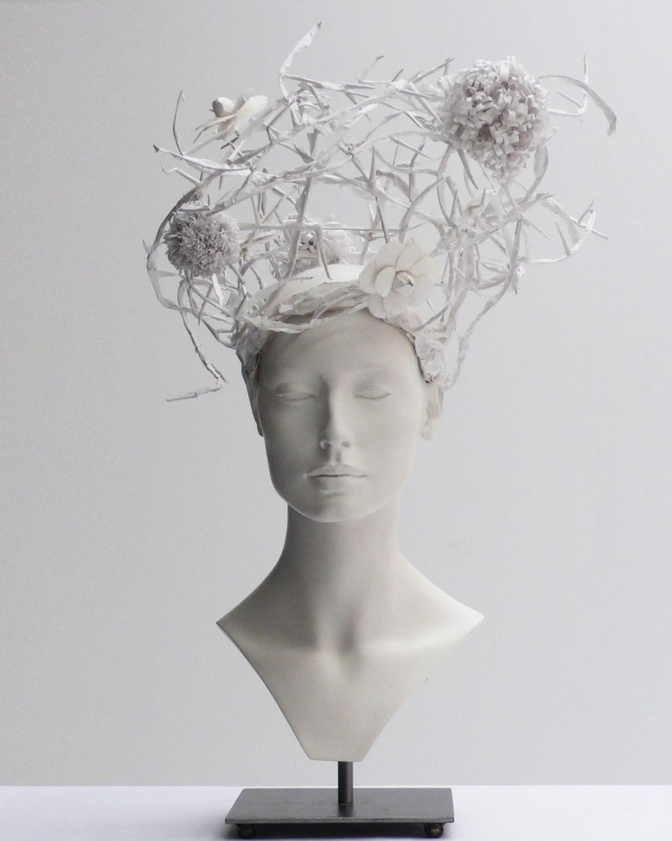 CHANEL Haute Couture Headpiece by Katsuya Kamo - SHOWstudio - The Home of Fashion Film