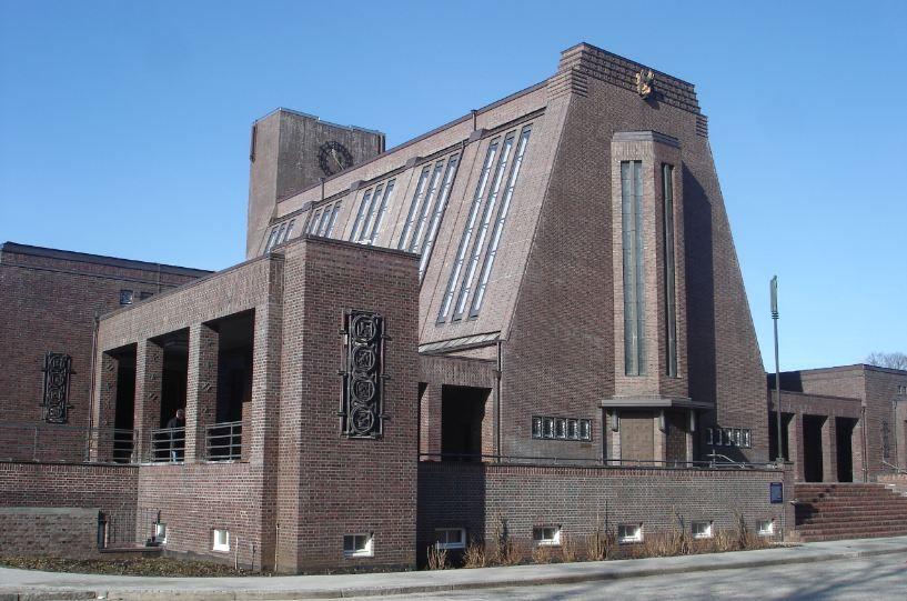 Crematorium, Hamburg, Germany- Fritz Schumacher