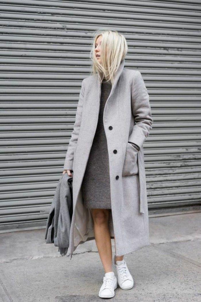 Womit Lässt Sich Ein Grauer Mantel Kombinieren Mode Lifestyle