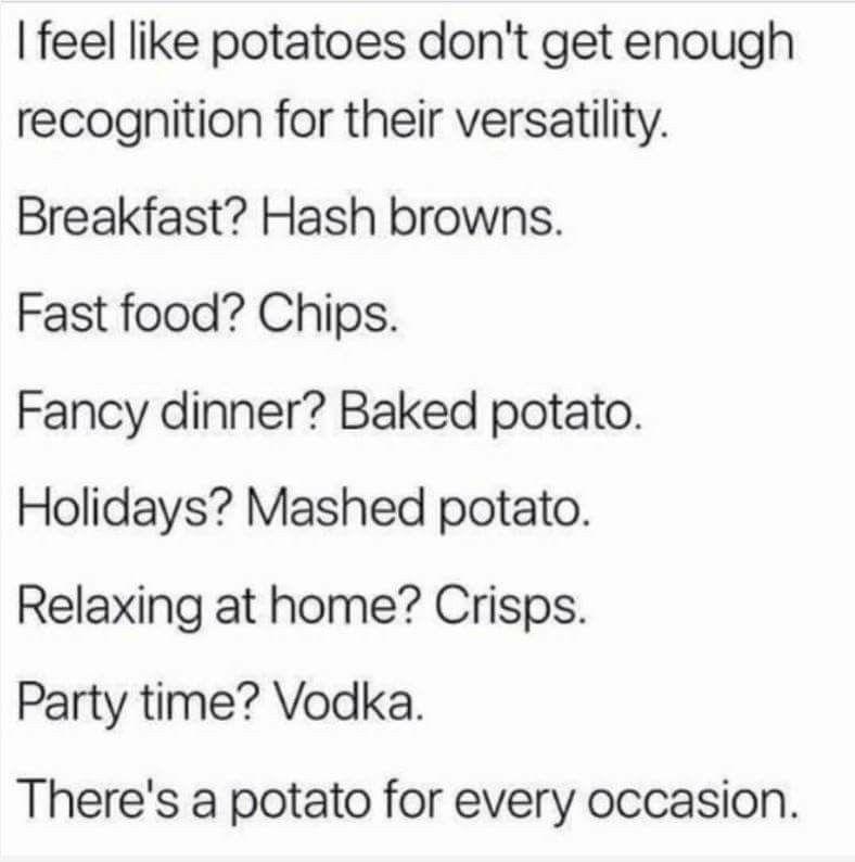Potato Vodka Funny Quotes Funny Really Funny