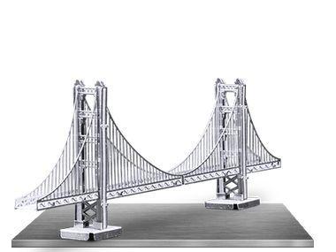 Golden Gate Bridge 3D Laser Cut Model