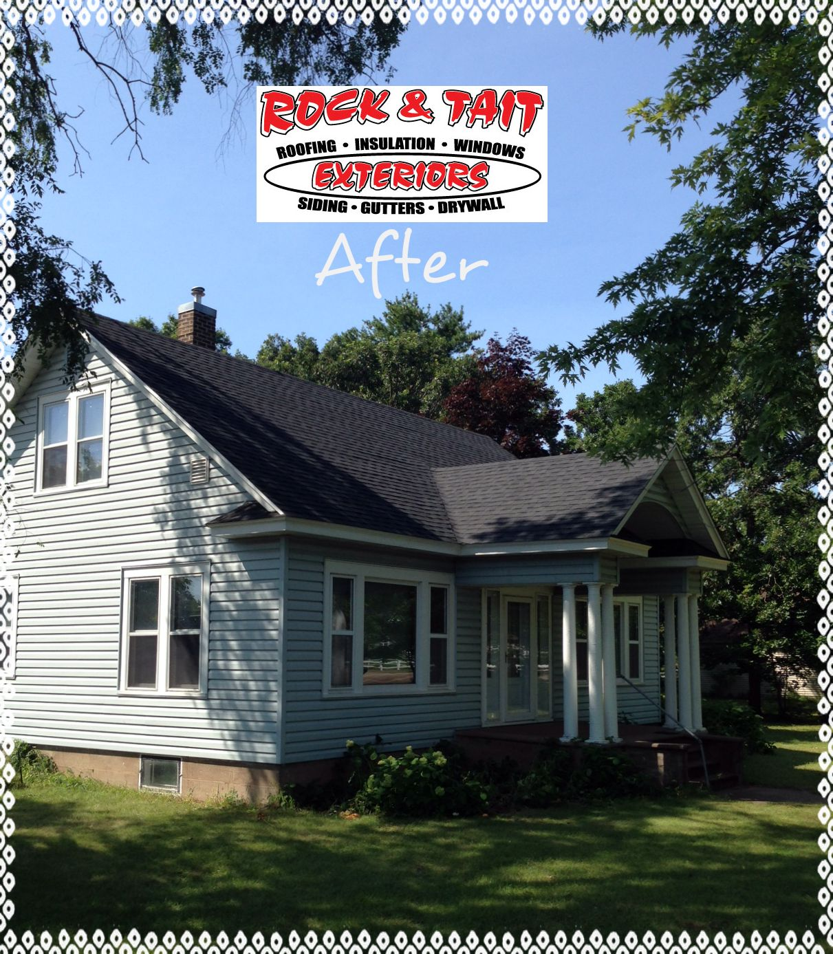 After With Gaf Roofing Materials With Images Roof Architecture Fibreglass Roof Modern Roofing