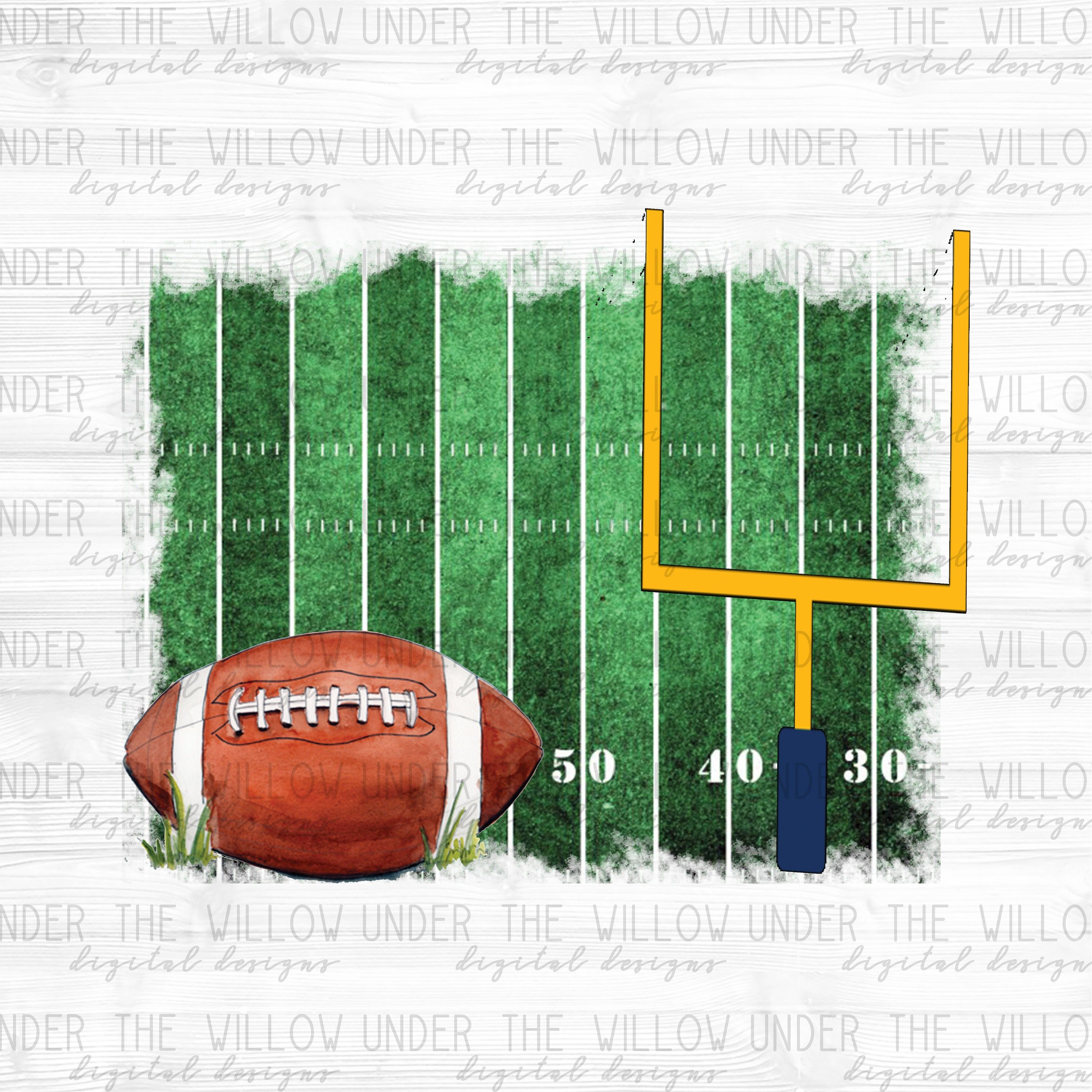 Football Field Background Png Football Png Instant Etsy Football Football Field Football Background