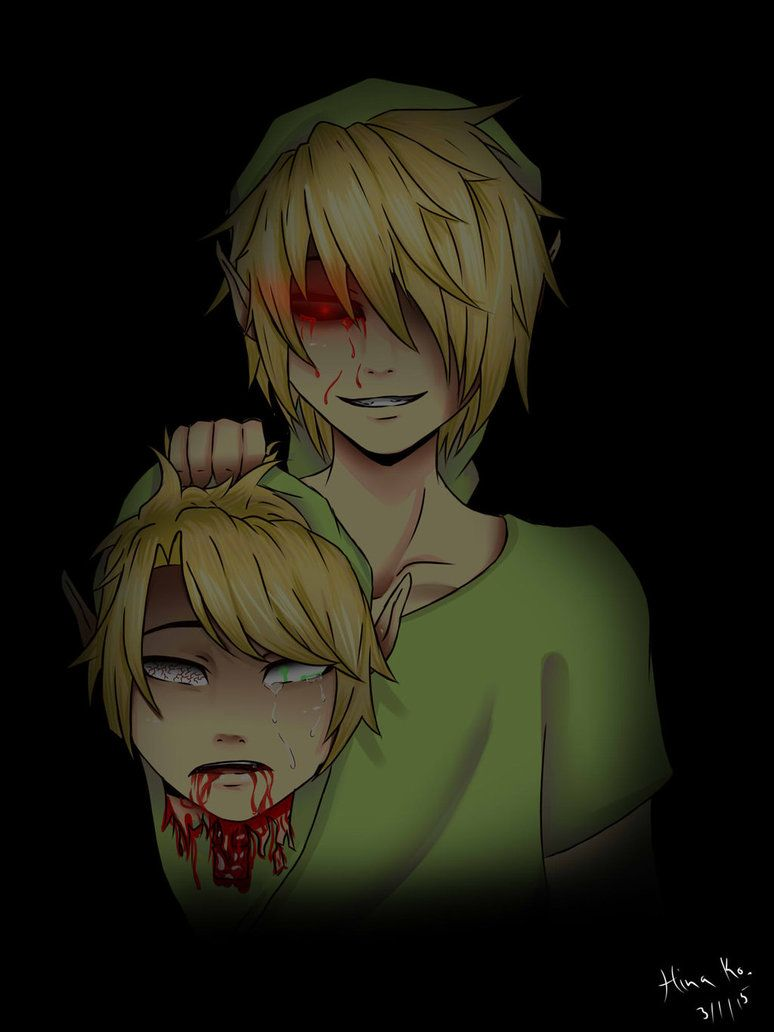 Ben Drowned Kills Link By Hinakuromori On Deviantart Creepypasta