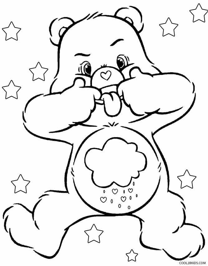 Printable Care Bears Coloring Pages For Kids Cool2bkids Cartoon Coloring Pages Cute Coloring Pages Disney Coloring Pages