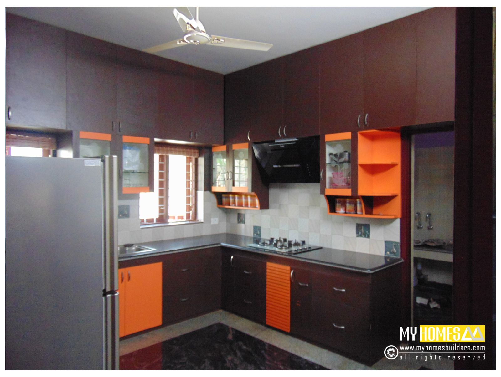Kerala Homes Modular Kitchen Designs Modular Kitchen Interior Design