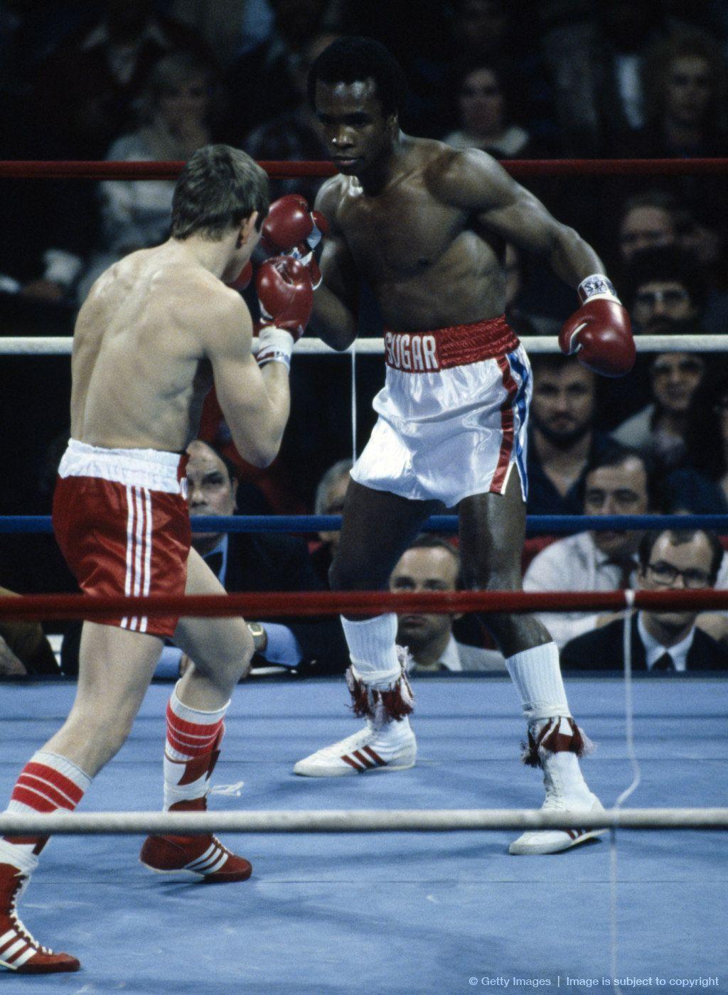 Sugar Ray Leonard vs. Dave Boy Green Boxing images
