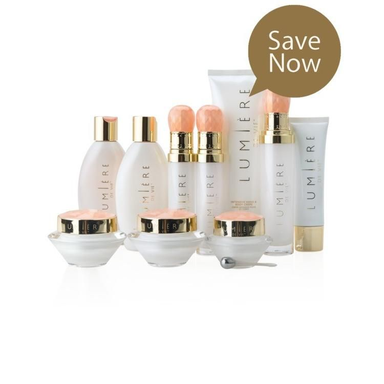 Lumière de Vie® Full Regime Kit : Products work together to promote healthy, luminous skin