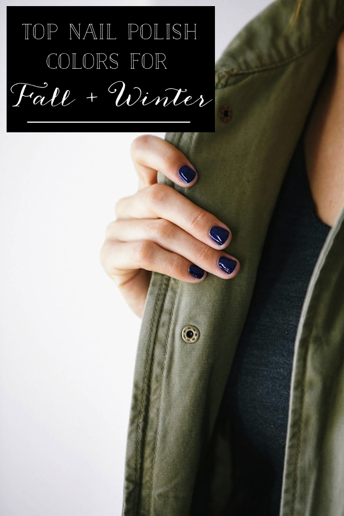 The Best Nail Polish Colors for Fall + Winter - Glitter, Inc.