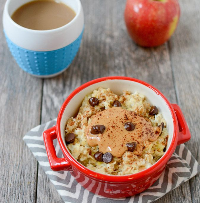 An Easy Way To Add Extra Protein Microwave Oatmeal With Egg