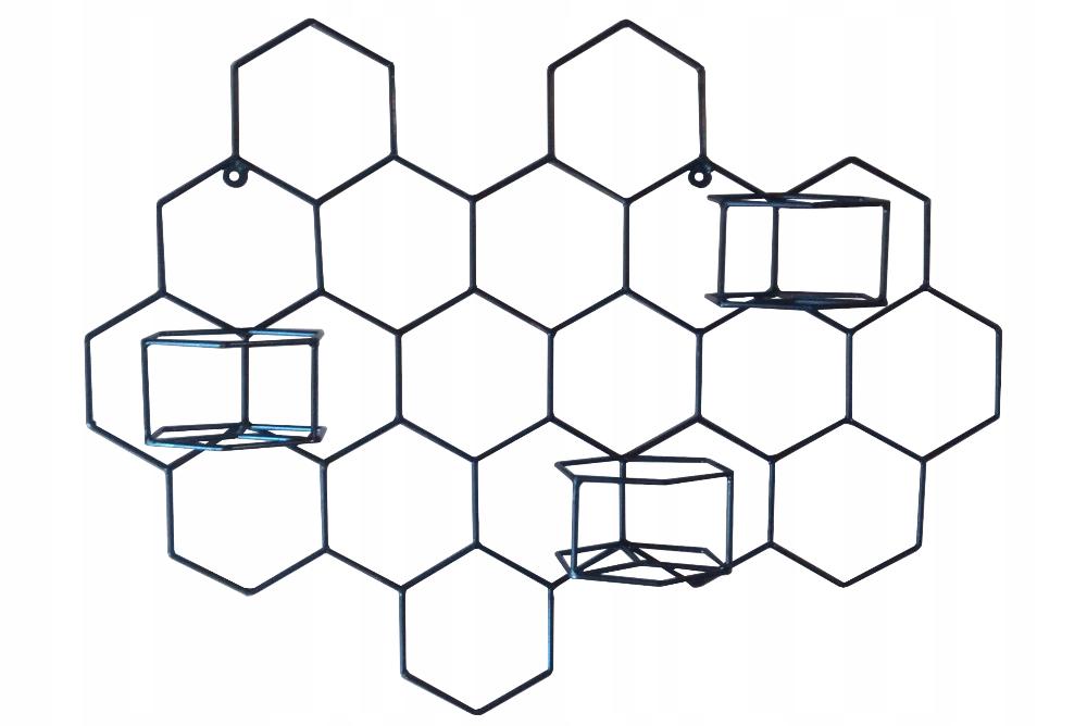Metalowy Kwietnik Scienny Honeycomb 3 8356579446 Oficjalne Archiwum Allegro Gaming Logos Logos Art