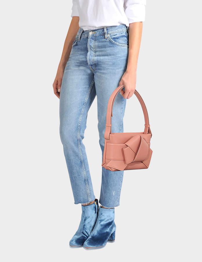 cd85ebc120 Acne Studios Musubi Handbag in Pink Calf and Lamb Leather